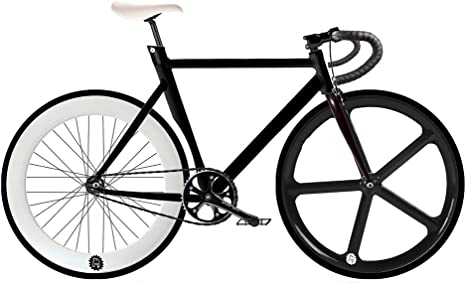 MOWHEEL Bicicleta Fixie-Navi 5. Monomarcha Fixie/Single Speed ...