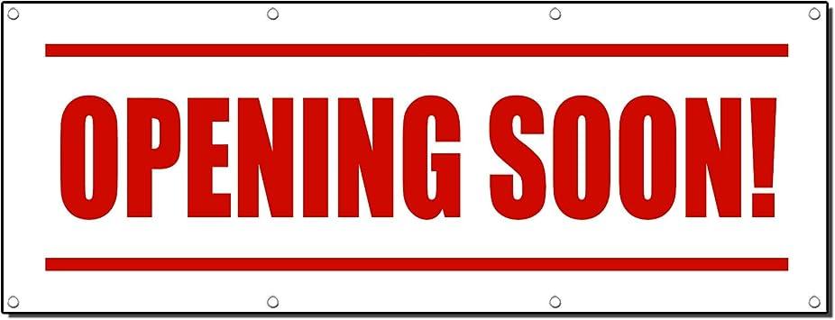 Amazon.com: Apertura Pronto. Promoción Business 13 oz Banner ...