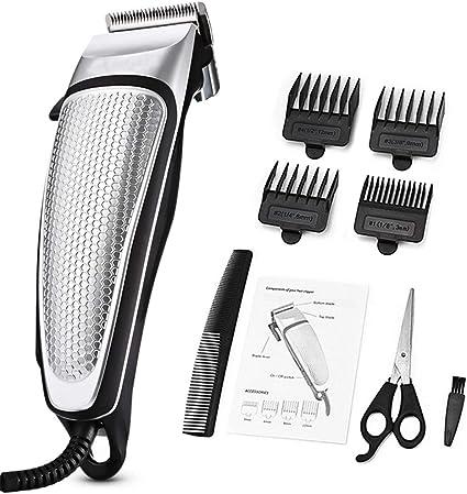 Cortador de pelo eléctrico profesional para hombres, cortador de pelo de bajo ruido, cortador de pelo, afeitadora para el hogar, herramienta de peinado, kit de aseo: Amazon.es: Salud y cuidado personal