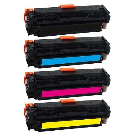 A S P SPS Toner Cartridge for HP Color LaserJet Printer Toner Cartridges at amazon