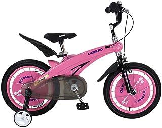 Asdflina Entraîneur de vélo Enfants Garçons Gilrs Vélo Freestyle Enfant Sports avec Stablizers en Taille inch 12,14 Âge 3+ Entraînement de vélo à Domicile (Couleur : Bleu, Taille : 14 inch(90-110cm))