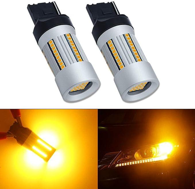 Set di 2 Arancio Philips automotive lighting 11065XUAXM LED Lampadina di Segnalazione per Auto WY21W Amber