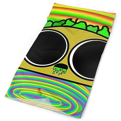 Amazon.com : Cool Acidic Taco Headband Mask Multi-use Sports ...