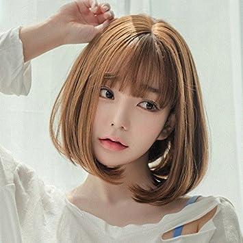 Short Curly Hair With Bangs Korean Style Midas Florence