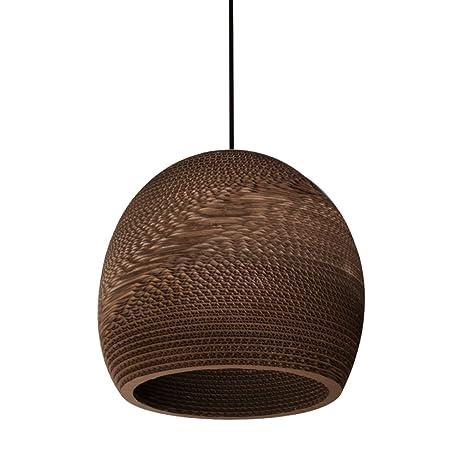 junolux moderno Tapered cáñamo cuerda lámpara de techo ...