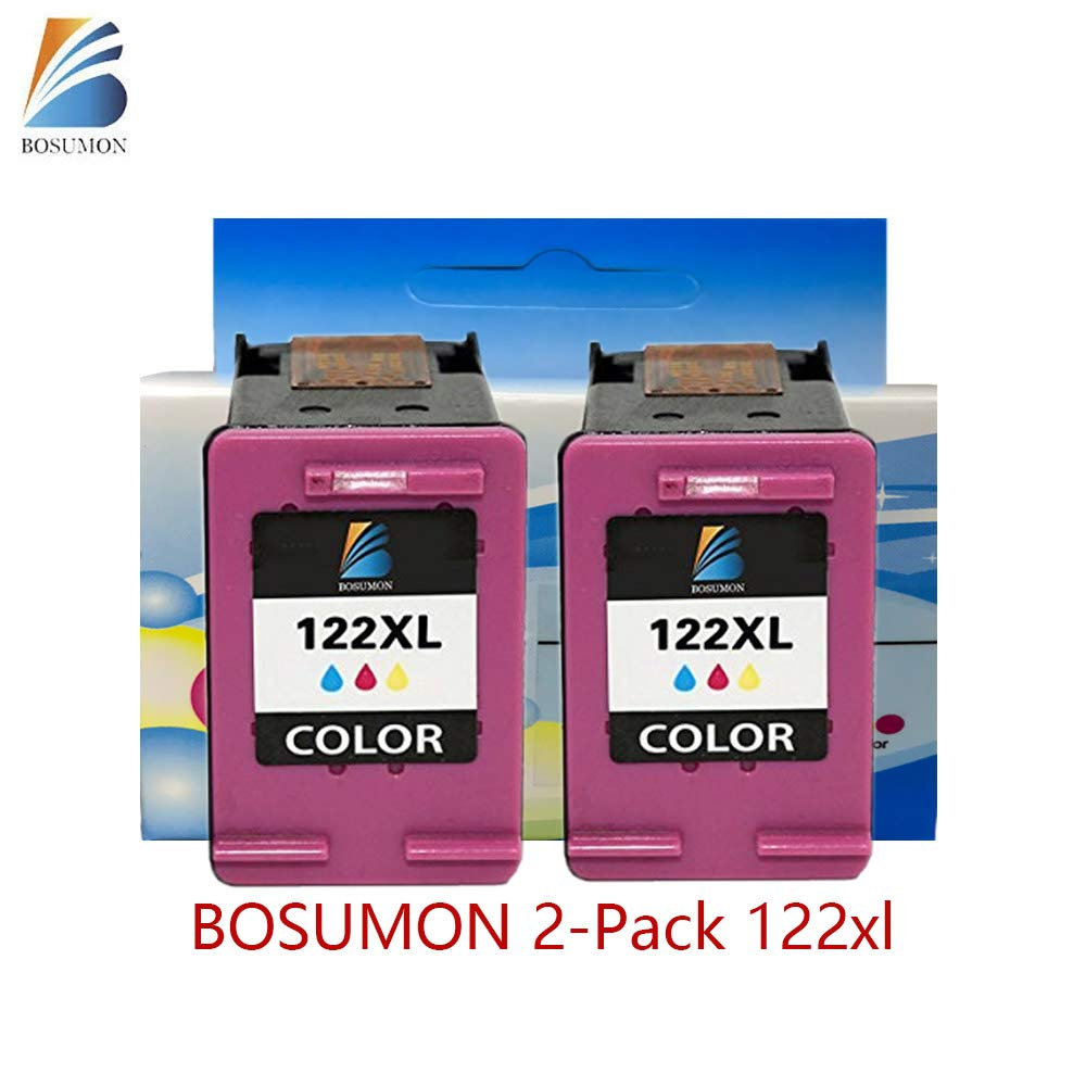 bosumon 2-Pack Remanufacturado cartucho de tinta color 122 x l ...