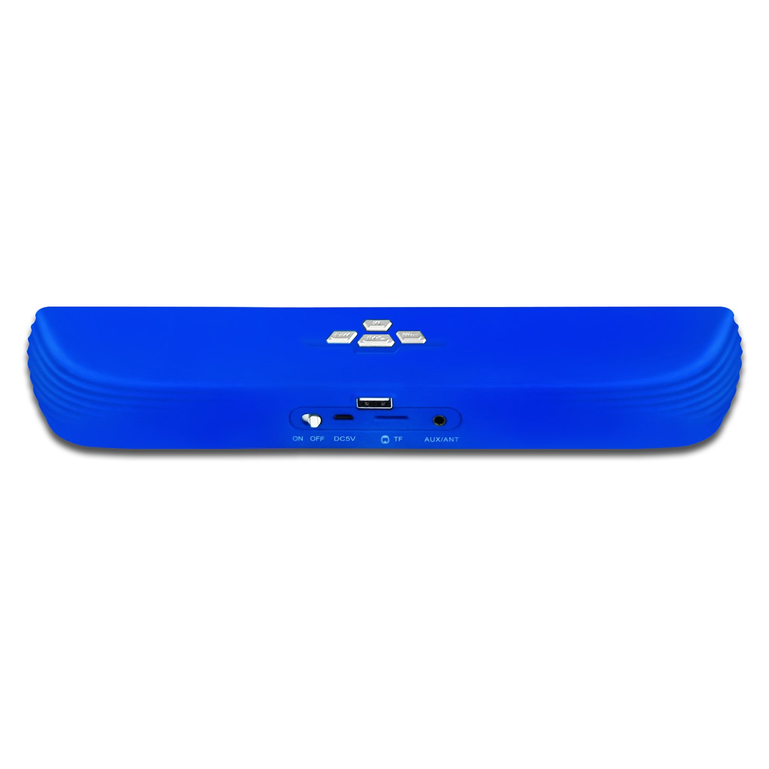 SCS ETC Wireless Bluetooth Speaker, 2 x3w Dual Drivers with Crystal, Clear and Huge Stereo Sound for PC, Laptop, Mobile, iPhone, iPad, Samsung etc (Navy Blue)