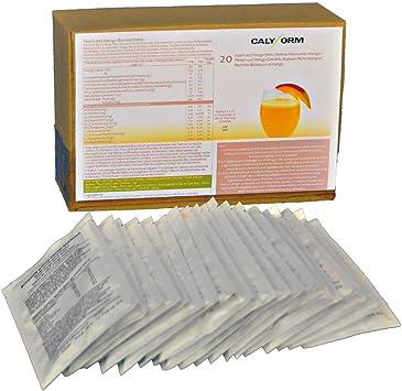 CALYFORM Batidos Proteínas para dieta sabor Melocotón y Mango Bebida proteica en polvo  100% saciante  Proteína dietética de calidad y aporte en ...