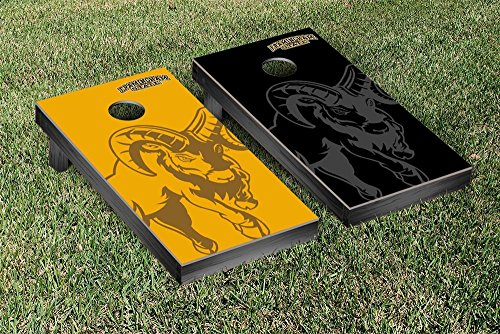 Framingham State FSU Rams Regulation Cornhole Game Set Watermark Version by Victory Tailgate
