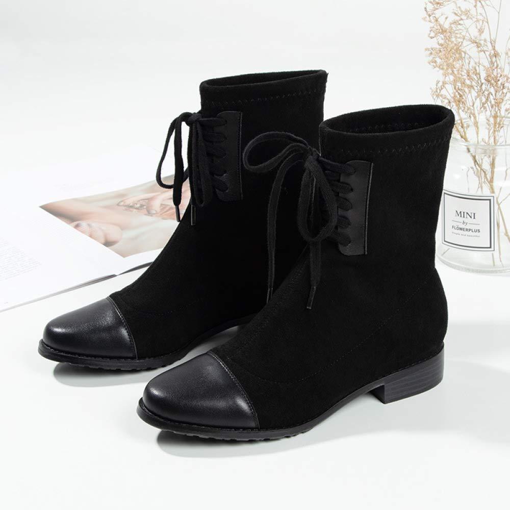 AZW@ Martin Stiefel Herbst Und Winter Damen Wildleder Warme Schneeschuhe, Mode In Der Mode Studenten Stiefel Stiefel, Lederschuhe