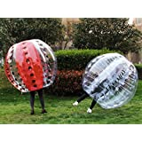AECOJOY 5FT Inflatable Bumper Ball 1pc 1.5m Human Knocker Bubble Soccer Balls (1pc, 5ft Clear)