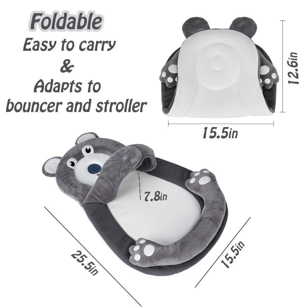 Amazon.com: Cojín portátil para tumbonas de recién nacido ...