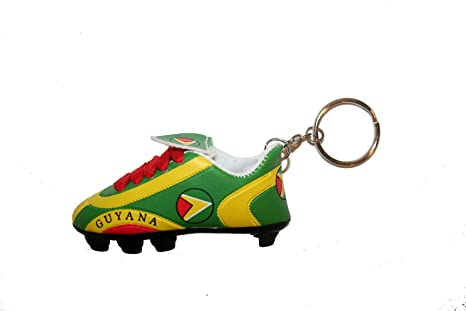 Amazon.com: Guyana inglete País Bandera Fútbol Zapatos ...