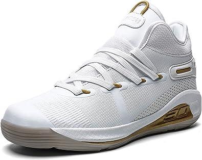 Homme Chaussure de Basketball dEntra/înement Souple Respirant Sneakers Chaussure de Sport Outdoor de Course R/ésistant /à lusure