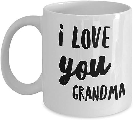 Grandma You/'re The World Mug We Love You Grandma Mug Cute Mother/'s Day Gift Mug