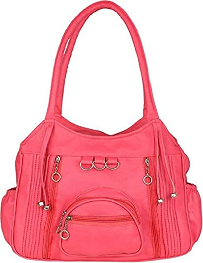 994d81b6a31a Sameerr Collection Women Handbags With Beautiful Pink Color With Latest  Model E-23