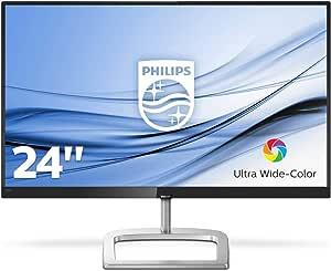 246E9QJAB/75 23.8IN FHD 1920X1080 75HZ FREESYNC IPS Gaming Monitor DP/HDMI/VGA Input Audio in Headphone Out 2X 3W Speakers VESA 75MM