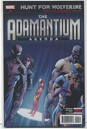 Amazon.com: The Adamantium Agenda # 4 NM Hunt For Wolverine ...