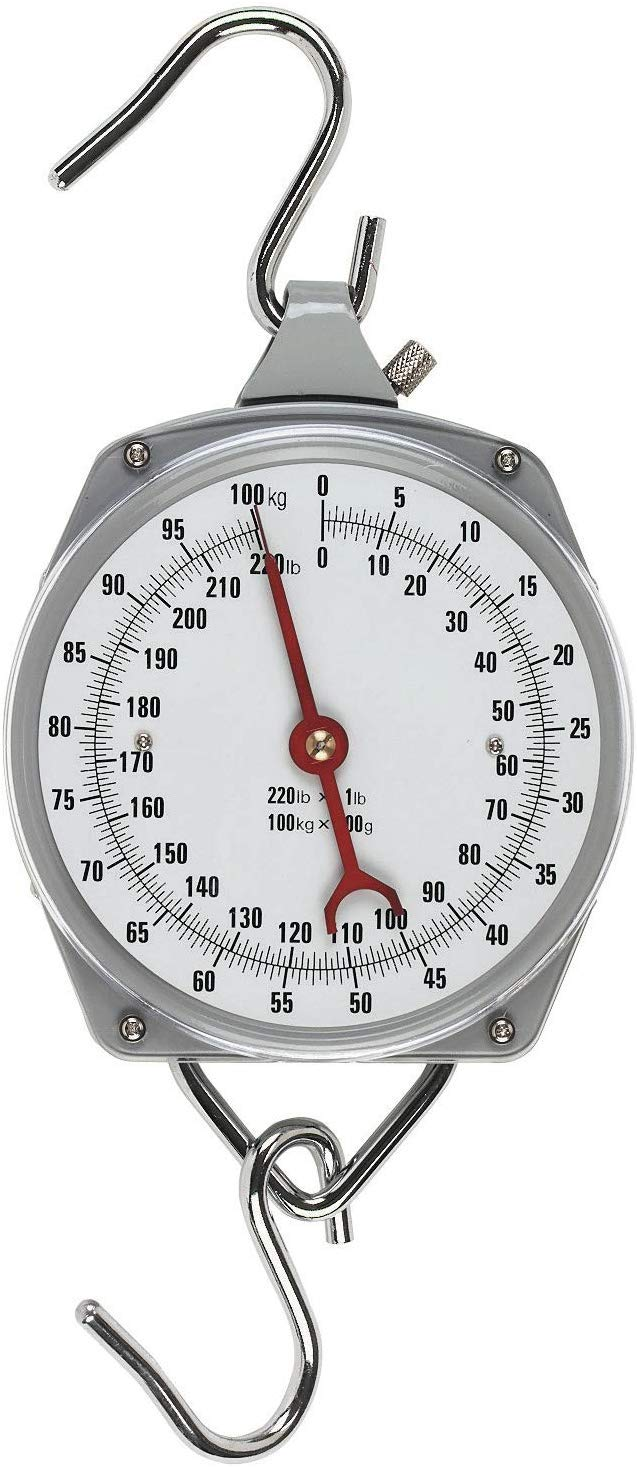 de f/ácil Lectura 1 5 kg b/áscula de Mano para Equipaje