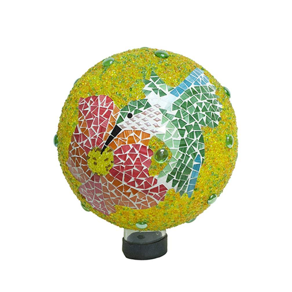 Echo Valley 8232 10'' Hummingbird Jeweled Mosaic Gazing Globe