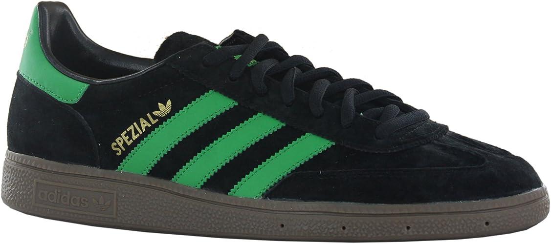 Adidas Spezial Black Green Mens