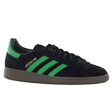 0ebc24337a9c Adidas Spezial Black Green Mens Trainers Size 7 UK  Amazon.co.uk  Shoes    Bags