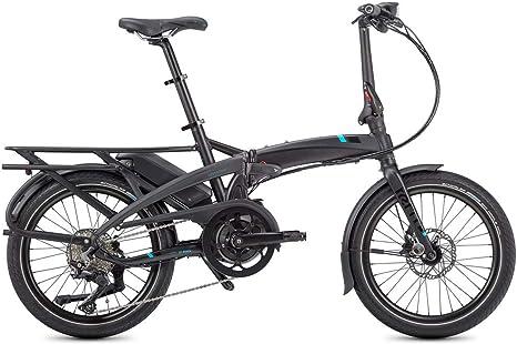 Tern Vektron S10 LR - Bicicleta eléctrica plegable, gris, 10 ...