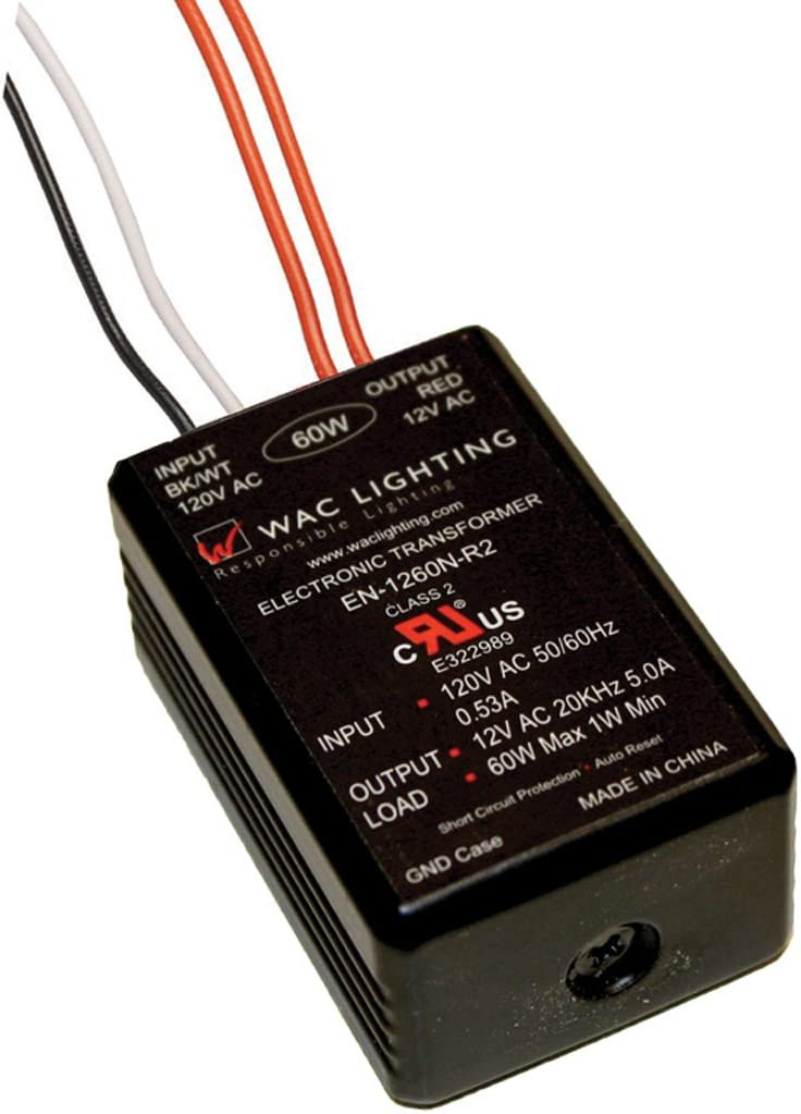 WAC Lighting EN1260R2 120 V 12 V 60 W Electronic Transformer
