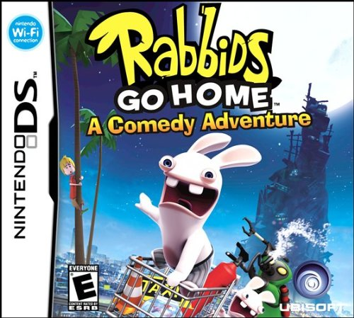 Rabbids Go Home - Nintendo DS - Mall Idaho Outlet