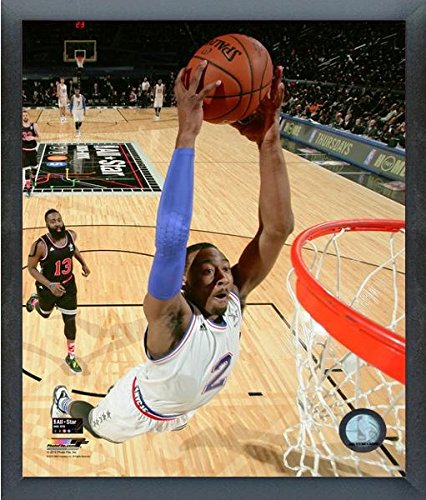 "John Wall Washington Wizards 2015 NBA All Star Game Action Photo (Size: 12"" x 15"") Framed"