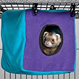 Midwest Homes for Pets Nation Accessories Cozy Cube, Purple/Teal