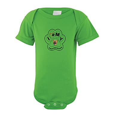 PERRO DE PRESA MALLORQUIN DOG I PAW MY Baby Bodysuit One Piece Apple Green Newborn