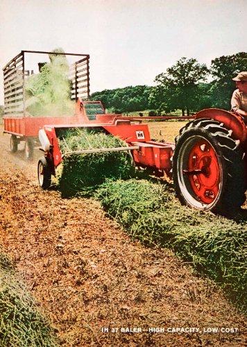 1965 Ad International Harvester Farming Machinery Equipment Agriculture Baler - Original Print Ad