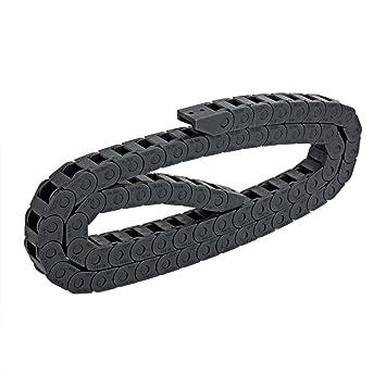 R18 10 mm x 10 mm 1 m de longitud de plástico cable arrastre ...