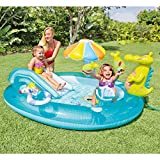 "Intex Gator Inflatable Play Center, 80"" X 68"" X 35"", for Ages 2+"