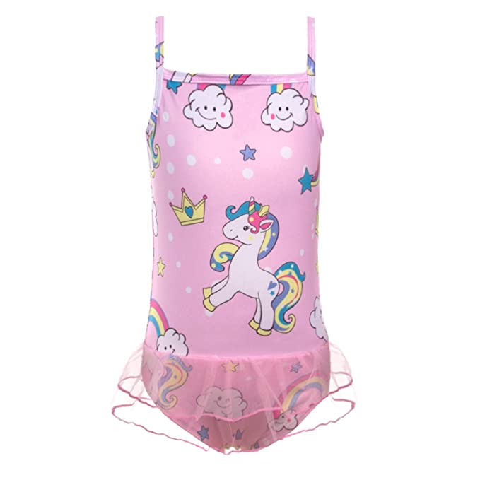 Amazon.com: Traje de baño para bebé y niña Unicornio de una ...