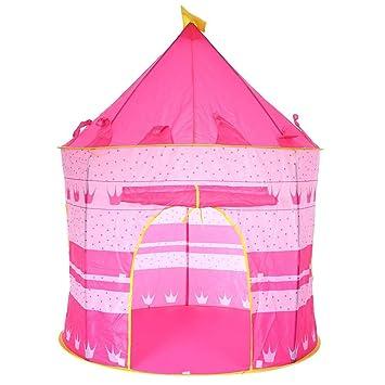 tienda campaa infantil para nios y nias casa castillo de juego plegable para interior y exterior