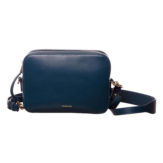 ff5fe0293b Pomikaki Federica donna, borsa a tracolla, blu, One size EU: Amazon ...