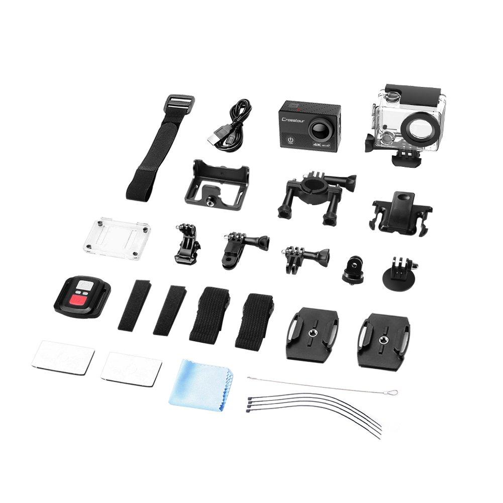 Crosstour 4K 16MP: accessori compresi nella confezione