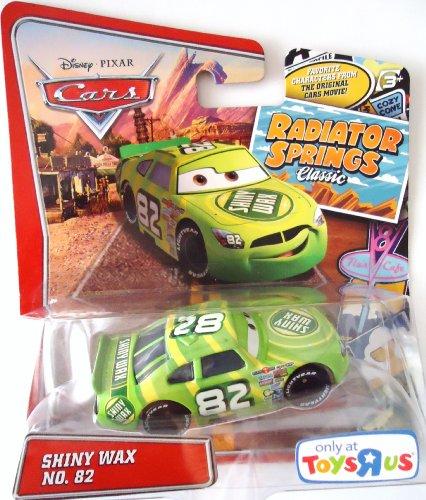 Cars Shiny Wax - Pixar Cars Radiator Springs Classic Exclusive Shiny Wax 1:55 Scale Mattel