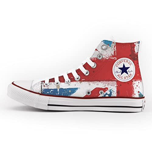 9f760f1dc4d Converse All Star High Customized and Printed - handmade shoes ...