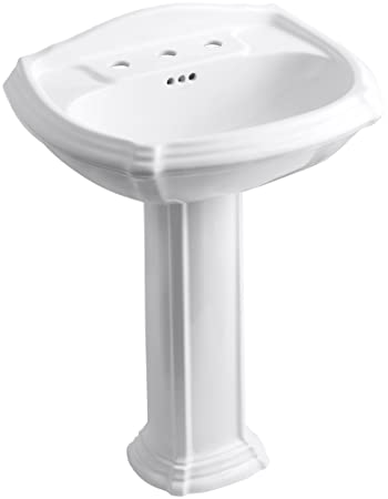 kohler pedestal sinks memoirs portrait bathroom sink centers cimarron installation instructions lowes