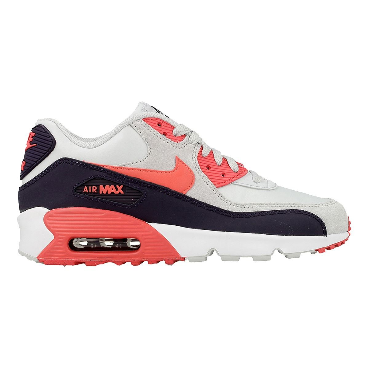 bd2c480851f747 Galleon - Nike Air Max 90 LTR (GS) (7 M US Big Kid)