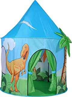 Spirit of Air Kids Kingdom Pop Up Dinosaur Play Tent  sc 1 st  Amazon UK & Chad Valley Dinosaur Play Tent: Amazon.co.uk: Toys u0026 Games