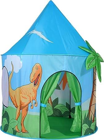 cheap for discount 1b2a6 f819b Spirit of Air Kids Kingdom Pop Up Dinosaur Play Tent