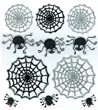 Jolee's Boutique Cute Spiders and Webs Dimensional Stickers