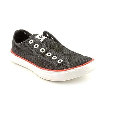 Converse Chuckit Slip Womens Black Mesh Athletic Sneakers
