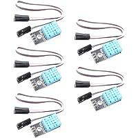 ButDillon 5Pcs DHT11 Módulo de Sensor de Humedad