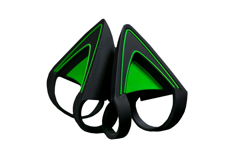 Amazon Kitty Ears For Razer Kraken Green Computers Accessories