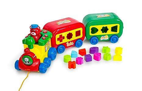 Amazon.com  Play Baby Toys Magical Puzzle Train 7b3c2185c664